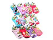 Tinkerbell Fairies Girls Ankle Socks Size 4-10 (Many Styles)