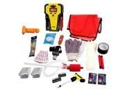 95pc Stanley Jump Starter Emergency Roadside Assistance Utility Kit