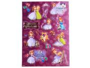 2 Pack Disney Sofia the First Raised Sticker Sheet