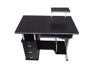 Merax Office Contemporary Style Computer Desk, Black