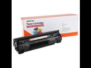Merax Compatible Black Toner Cartridge for HP CB436A (36A, CB 436, HP36A, HP 36, HP36)