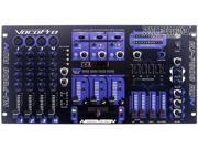 VocoPro KJ-7808 RV Professional KJ/DJ/VJ Mixer with DSP Mic Effect, and Digital Key Control