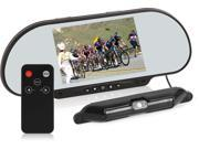 Black Wireless Reverse/Backup Camera and Monitor System