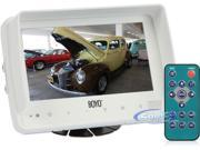 "BOYO Vision VTM7000MA 7"" Marine Grade Color LCD Digital Touch Button Monitor w/ 4 Camera Inputs and Built-in Speaker"