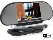 BOYO Vision VTC464RB Wi-Fi Enabled Wireless Rearview Mirror & Backup Camera System