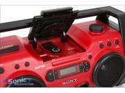 Sony ZSH10CP (ZS-H10CP) Portable CD Radio Boombox Open Box Incomplete (Missing Antenna & AC adapter)