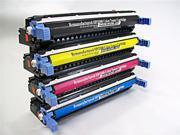4PK [ C9730A - C9733A SET ] 730A 731A 732A 733A Remanufactured Toner Cartridge BLACK for HP Hewlett-Packard Color Laserjet 5500 Series 5500dn 5500dtn 5550 5550dn 5550dtn 5550hdn 5550n