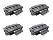 Cisinks ® 4 Pack Compatible ML-D2850 Black Laser Toner Cartridge for use in Samsung ML-2850 & ML-2851 & ML-2850D & ML-2851ND Printers