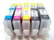 Cisinks ® 5 Pack HP564&HP564XL HP 564/564XL Compatible Cartridge Works with HP PhotoSmart C5380 C5388 C6380 C6383 C6388 C6480 D5460 D5463 D5468 B8550 B8553 B8558 B8560 C309A C410A