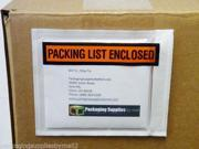 "4.5"" W x 5.5"" L Packing List Enclosed, Panel Face, Envelopes, 6000 ( 6 Cases )"
