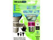 LED Blue Grow Light Bulb - 50 Watt Equivalent, Uses 2 Watts