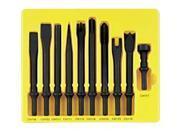 10 Piece .401 Shank General Service Chisel Set