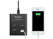 ORICO DUB-4P 48W 4-Ports Smart USB Charger for iPhone, iPad, Samsung Galaxy, Nexus, HTC, Motorola, Nokia and most USB-Charged devices