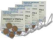 TENS Unit Premium Silver Electrodes 1.25 inch Round, Tan Mesh Backed - 16 ea