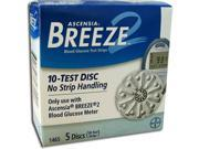 Bayer Breeze 2 Disc Test Strips - 50 ea