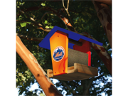 New York Mets Wood Bird Feeder Kit