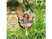 Petal Fairies Puckish Pixie Hanging Statuary