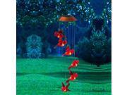Garden Days Red Cardinal Lights Solar Powered Mobile