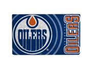 Edmonton Oilers Graphic Print Coir Door Mat