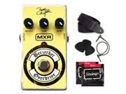 MXR Berzerker Overdrive Effects Pedal + strings, picks, strap, and patch cable