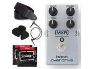 Dunlop M89 MXR Bass Overdrive Bundle Pack