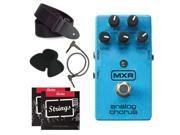 MXR M234 Analog Chorus Guitar Effects Pedal + Bundle pack