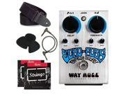 Way Huge Echo-Puss Analog Delay Pedal WHE702S + Bundle pack