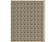 Robert E. Lee Full Sheet of 100 X 30 Cent Us Postage Stamps Scot #1049
