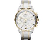 Men's Fossil Dean Chronograph Steel Watch FS4795