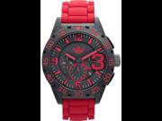 Men's Adidas Newburgh Red Chronograph Watch ADH2793