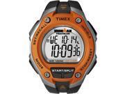 Timex Men's Ironman T5K529 Black Resin Quartz Watch with Silver Dial