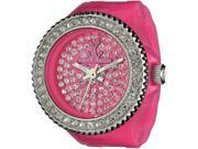 Women's Pink Toywatch Toy Ring Plasteramic Watch TR06PS