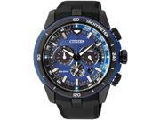 Men's Citizen Eco-Drive Chronograph Solar Watch CA4155-04L