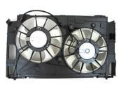 LEXUS CT200H TOYOTA PRIUS 10 - 13 HYBRID DUAL RADIATOR AC CONDENSER COOLING FAN