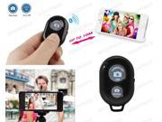 Bluetooth Remote Control Shutter For Selfie Stick MONOPOD Telescopic Holder Black