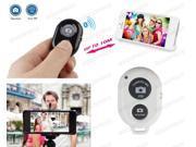 Bluetooth Remote Control Shutter For Selfie Stick MONOPOD Telescopic Holder White
