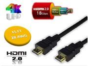 15 FT 18Gbps 28 AWG HDMI 2.0 CABLE 4K TV 3D DVD PS3 HDTV XBOX LCD HD TV 2160P