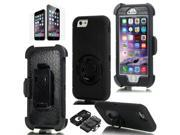 Rugged Armed Heavy Duty Case w/ Clip Holster FOR iPhone 6