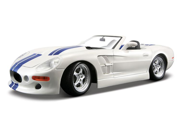 Maisto 1:18 Scale White Shelby Series One