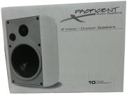"Proficient Audio Systems AW400 4"" Indoor/Outdoor Speakers - Black"
