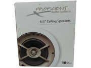 """Proficient Audio Systems C645 6.5"""" Kevlar Ceiling Speakers"""