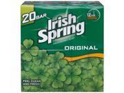 Irish Spring Deodorant Soap Original Scent - 3.75 oz. - 20 ct.
