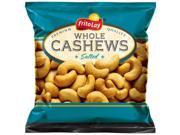 Frito Lay Premium Natural Whole Cashews, Salted 3 Oz Bags (16 Pack)