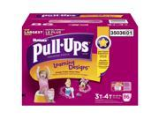 Huggies Pull-Ups Training Pants for Girls, Size 3T-4T (32-40 lbs.), 86 ct.