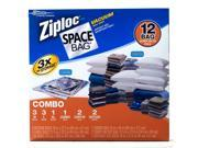 Ziploc Space Bags 12 ct. Combo
