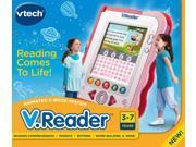 Vtech V.Reader Animated E-Book E-Reading System - Pink