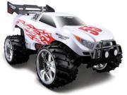 1:16 Maisto Dune Blaster White Off Road RC Car