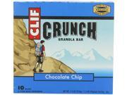 ClifBar CLIFCRUN5.2PCHCHBR Crunch Bar Chocolate Chip 5,2 pk