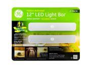 GE Battery-Operated, Motion-Activated 12-Inch LED Light Bars (2 pack)