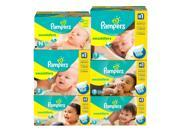 Pampers Swaddlers Diapers, Size 1 (8-14 lbs.), 186 ct.